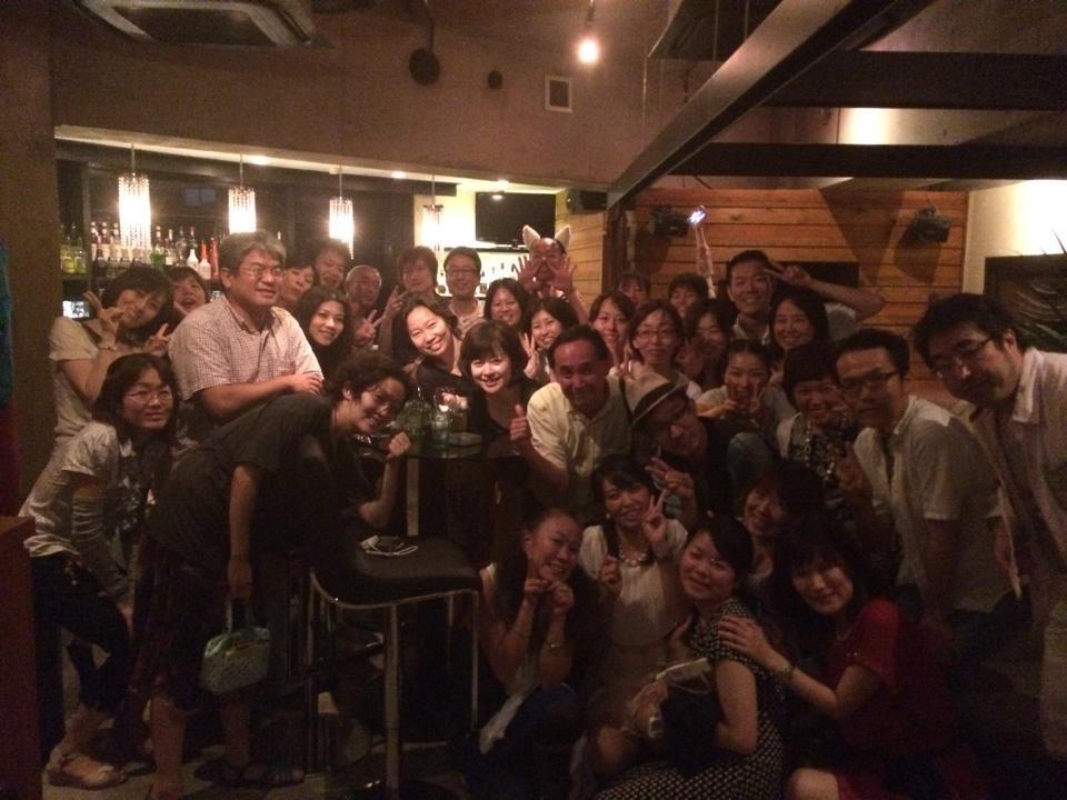 トビケン塾、シンカプロジェクト合同打ち上げパーティー