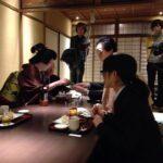 フジテレビスーパーニュース特報京都お茶屋さん舞妓芸姑特集にトビケン塾の塾生と、とびけん出演